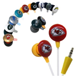 iHip NFL Earbuds- $10 with Free Shipping