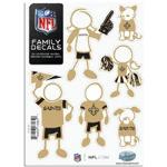 NFL Family Car Decals- $9 with Free Shipping