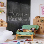 6Ft Blackboard Sticker comes with 6 Pieces of Chalk- $12 with Free Shipping